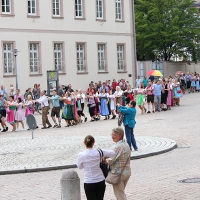 Dindl-Lederhosen-Polonaise Weltrekord 2014_38