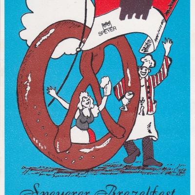 Festpostkarte Nr 01 1991