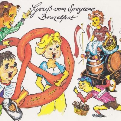 Festpostkarte Nr 02 1992