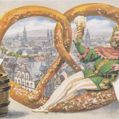 Festpostkarte Nr 04 1994