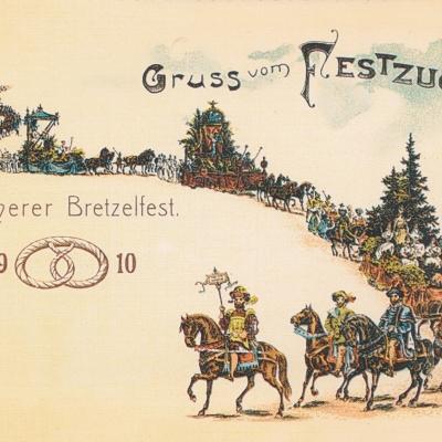 Festpostkarte Nr 10 2000
