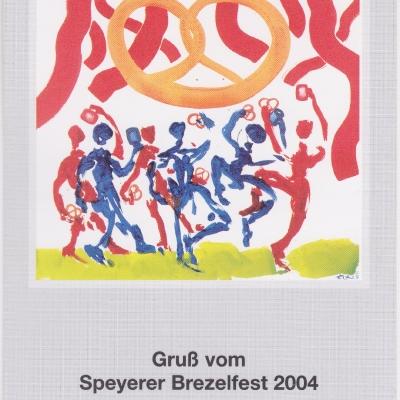Festpostkarte Nr 14 2004