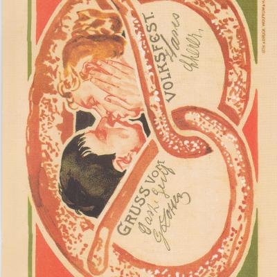 Festpostkarte Nr 16 2007
